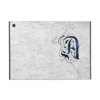 Vintage Initial A Covers For iPad Mini