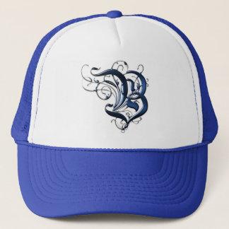 Vintage Initial B Trucker Hat