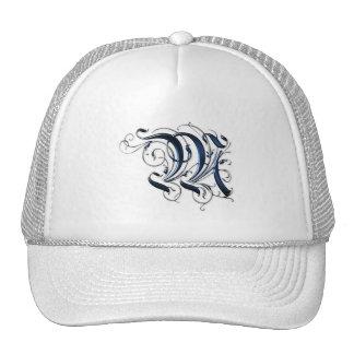Vintage Initial M Trucker Hat