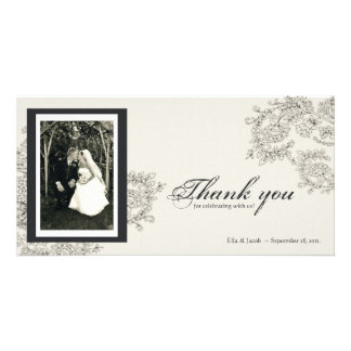 Vintage Inspired Thank You Card