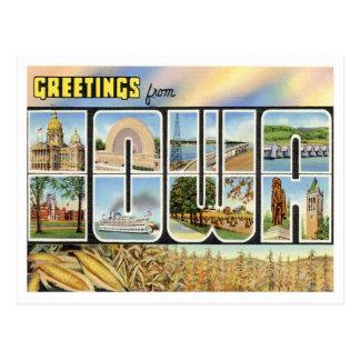 Vintage Iowa Postcard