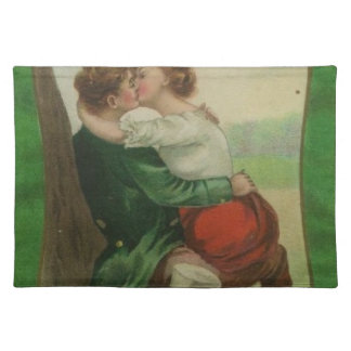 Vintage Ireland Irish Romance St. Patrick's Day Placemat