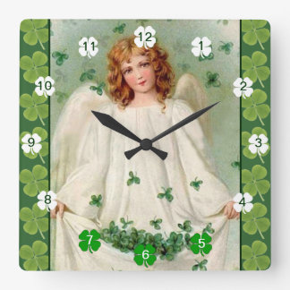 Vintage Irish Angel clock