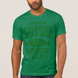 Vintage Irish Drinking Team Shirts