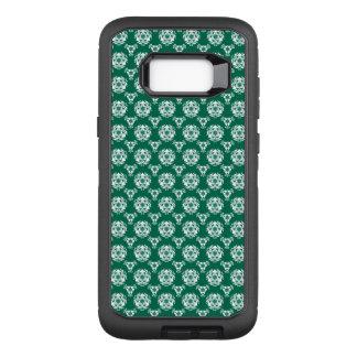 Vintage Irish Green Baroque Wallpaper OtterBox Defender Samsung Galaxy S8+ Case