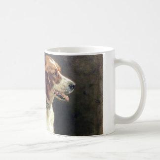 Vintage Irish Setter Painting Coffee Mug