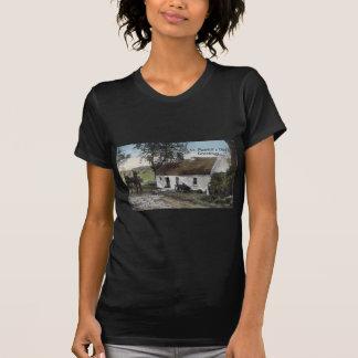 Vintage Irish thatched cottage St. Patricks Day T-Shirt