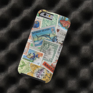 Vintage Island Stamps iPhone 6 Case