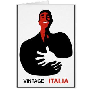 Vintage Italia Card