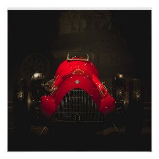 Vintage italian racecar
