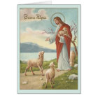 Vintage Italian Religious Easter Greeting Card