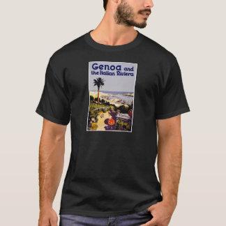 Vintage Italian Tourism Poster Scene T-Shirt