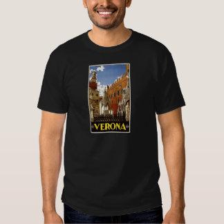 Vintage Italian Tourism Poster T-Shirt