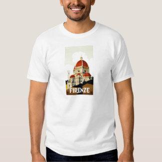 Vintage Italian Tourism Poster T-Shirts