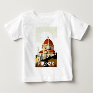 Vintage Italian Tourism Poster Tee Shirt
