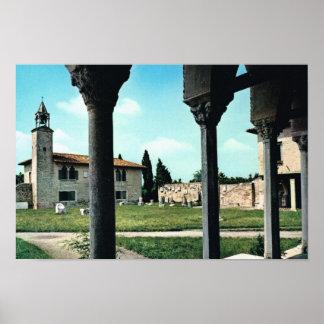 Vintage Italy,  Antiquities, Ardo region Venezia Poster