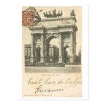 Vintage Italy, Arco della Pace, Milano Post Cards