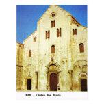 Vintage Italy, Bari, St Nicholas Church Post Card