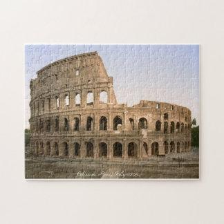Vintage Italy jigsaw, Coliseum, Rome Jigsaw Puzzle