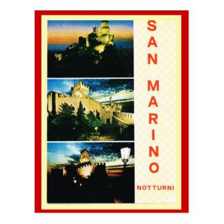 Vintage Italy,  Travel Poster, San Marino Postcard