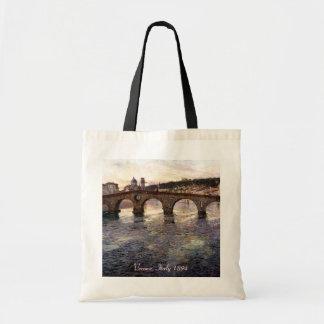 Vintage Italy (Verona, Circa 1894) Canvas Bags