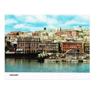 Vintage Italy Waterfront Cagliari Postcards