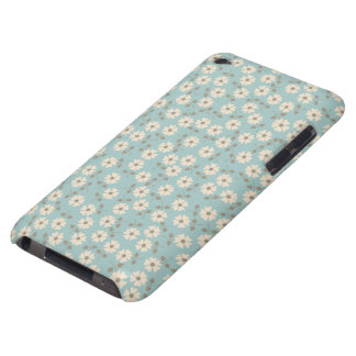 Vintage Ivory Flowers Pattern iPod Touch Cover
