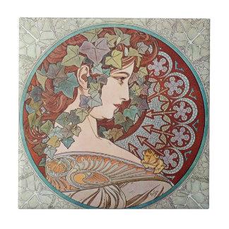 Vintage Ivy Goddess Tile