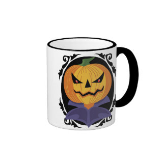 Vintage Jack-o-lantern mug