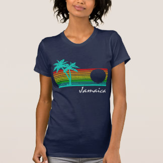 Vintage Jamaica - Distressed Design T-Shirt