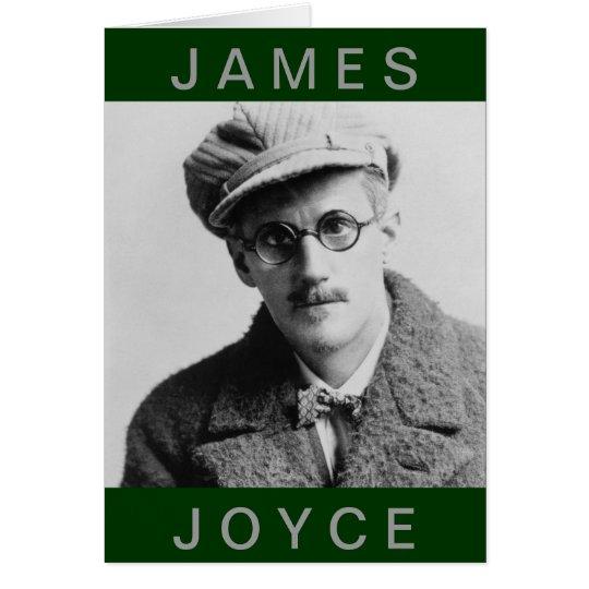 Vintage James Joyce Portrait Card