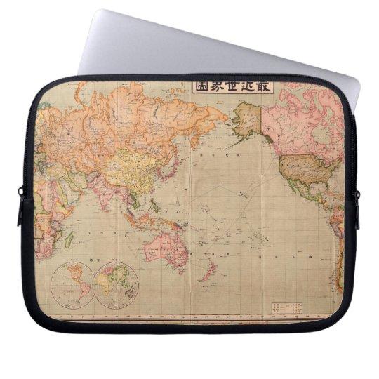 Vintage Japan 1914 World Map Sleeve