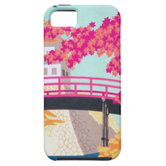 Vintage Japan Travel Poster Art iPhone 5 Cover