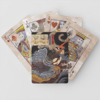 Vintage Japanese Art - Kuniyoshi Bicycle Playing Cards
