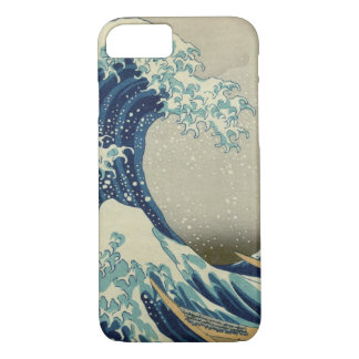 Vintage Japanese Art, The Great Wave by Hokusai iPhone 7 Case