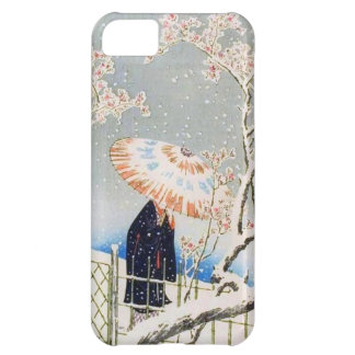 Vintage Japanese Cherry Blossoms iPhone 5C Case