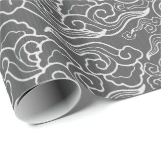 Vintage Japanese Clouds, Graphite Gray / Grey