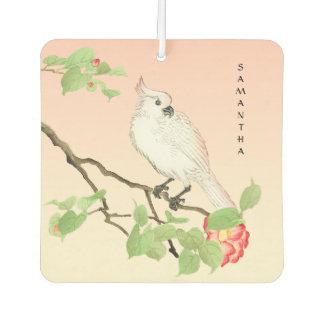 Vintage Japanese Cockatoo Camellia Air Freshener