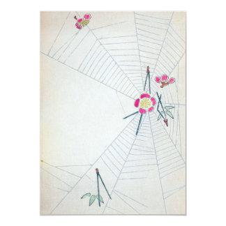 Vintage Japanese Fine Art Card