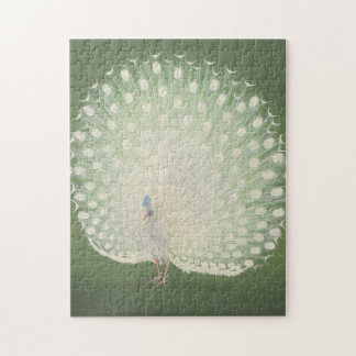 Vintage Japanese Fine Art | Peacock Jigsaw Puzzle
