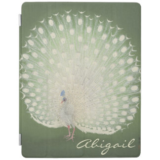 Vintage Japanese Fine Art | Peacock Personalized iPad Cover