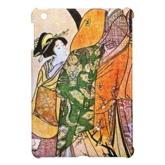 Vintage Japanese Geisha Artwork iPad Mini Cases