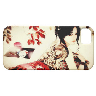 Vintage Japanese Girl Barely There iPhone 5 Case