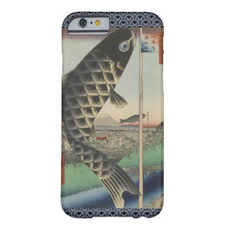 Vintage Japanese Koi Festival Flags Barely There iPhone 6 Case