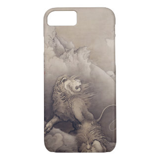 Vintage Japanese Lion Animal Art iPhone 8/7 Case