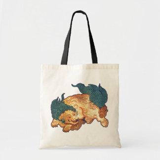 Vintage Japanese Lion (detail) Tote Bag