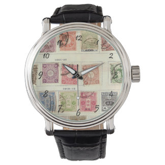 Vintage Japanese Postage Watches
