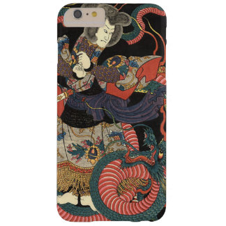 Vintage Japanese Red Dragon Barely There iPhone 6 Plus Case