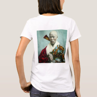 Vintage Japanese Shinto Priest Praying Old Japan T-Shirt