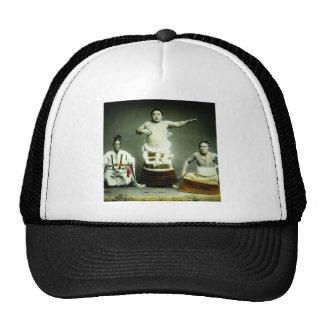 Vintage Japanese Sumo Wrestlers Old Japan Cap